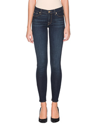 7 FOR ALL MANKIND The Skinny Bair Rinsed Indigo Blue