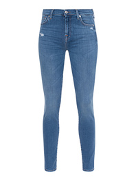 7 FOR ALL MANKIND The Skinny Strass Blue
