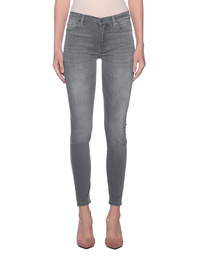 7 FOR ALL MANKIND High Waist Skinny Luxe Bliss Grey