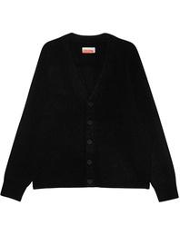 Heron Preston for Calvin Klein Oversized Knit Alpaca Black