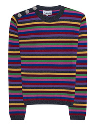 Ganni Stripe Sparkle Multicolor