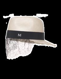 Maison Michel X Karl Lagerfeld Karlie Natural