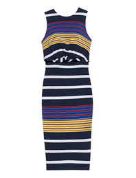 Kendall + Kylie Stripe Cut Out Multi