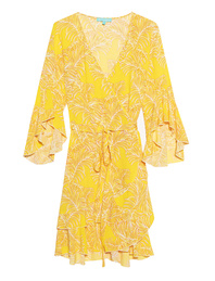 Melissa Odabash Short Wrap Kirsty Yellow