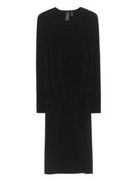 NORMA KAMALI Babydoll Dress Black