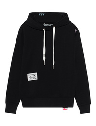 PAUL X CLAIRE Hooded Wording Black