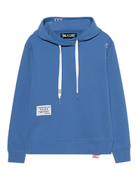 PAUL X CLAIRE Hooded Wording Blue