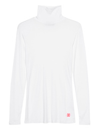 PAUL X CLAIRE Turtleneck Cross White