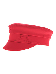 Ruslan Baginskiy Baker Boy Cap Cotton Red