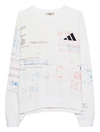 YEEZY Crewneck Scripted Off White