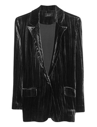 JADICTED Blazer Velvet Black