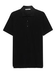 STEFAN BRANDT Polo Linen Black