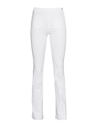 FRAME DENIM Le High Flare Blanc