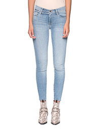 FRAME DENIM Le Skinny de Jeanne Crop Lightblue