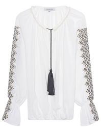 LUG VON SIGA Embroidery Tunic White