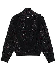 ALANUI Bomber Stardust Sequins Black