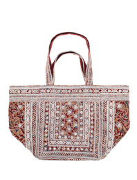 STAR MELA Maha Emb Tote Red