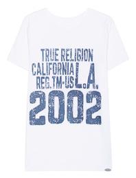 TRUE RELIGION Buddha Back White