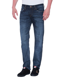 TRUE RELIGION Rocco Relaxed Skinny Midnight Cloud