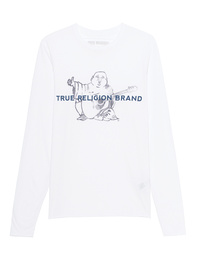 TRUE RELIGION Buddha Long White