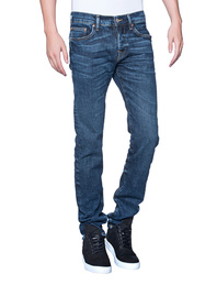 TRUE RELIGION Rocco Cobalt Blue Denim