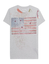 TRUE RELIGION Splash American Flag Dark Marl