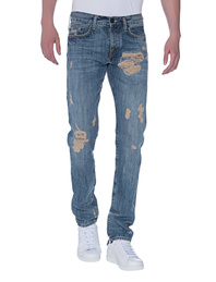 TRUE RELIGION New Rocco Rustic Blue Red Selvage