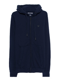 TRUE RELIGION Hooded Zip Gothic French Blue