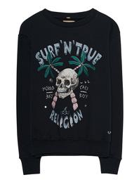 TRUE RELIGION Surf Skull Black