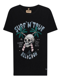 TRUE RELIGION Surf Skull Black