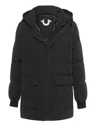 TRUE RELIGION Down Parka Black