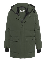 TRUE RELIGION Hoody Down Green