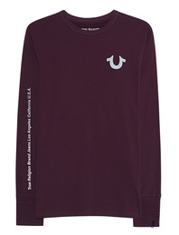 TRUE RELIGION Reflective Bordeaux