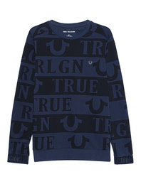 TRUE RELIGION Print Allover Blue