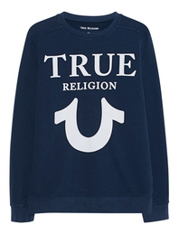 TRUE RELIGION Sweater Puffy Navy
