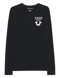 TRUE RELIGION Logo Long Black