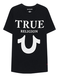 TRUE RELIGION Round Nero Black