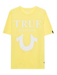 TRUE RELIGION Round Lemon Yellow