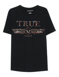 TRUE RELIGION Logo Glitter Black