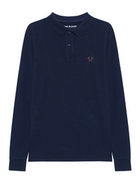 TRUE RELIGION Polo Longsleeve Navy
