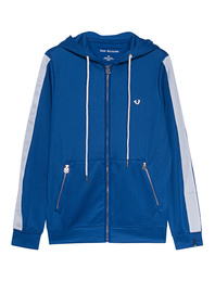 TRUE RELIGION Zip Stripe Royal Blue