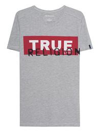TRUE RELIGION Crew Shirt True Grey