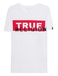 TRUE RELIGION Crew Shirt True Block White