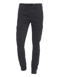 TRUE RELIGION Cargo Zip Anthracite