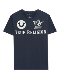 TRUE RELIGION Crew Shirt Blue