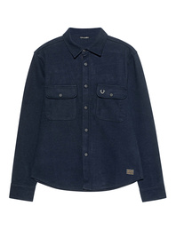 TRUE RELIGION Overshirt Navy