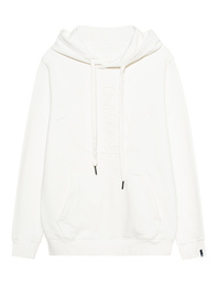TRUE RELIGION Big Buddha Hood White