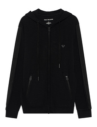 TRUE RELIGION Zip Hoodie Black