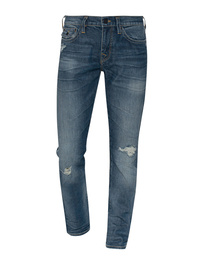TRUE RELIGION New Geno Relaxed Slim Blue