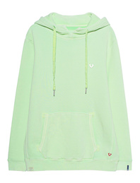 TRUE RELIGION Basic Hood Fresh Mint